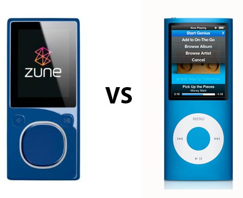 ipod vs zune Re: ipod vs zune jul 4, 2008, 4:08 am i have an ipod classic also, best buy i have ever made- couldn't comment on the other but i can highly recommend the ipod.